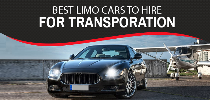 Infographic: 6 Best Limo Cars Worth Hiring For Transportation